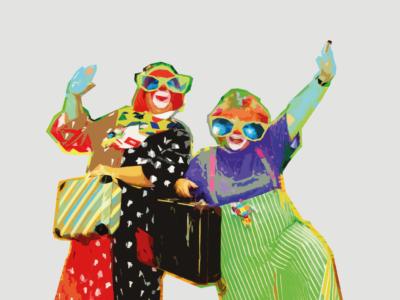 """Clown show –""""Eksplozja radości"""""""